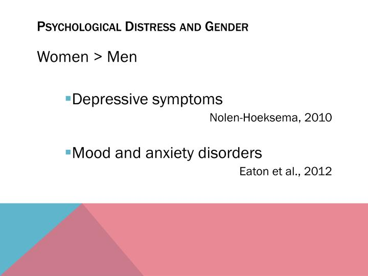 gender differences in anxiety disorders