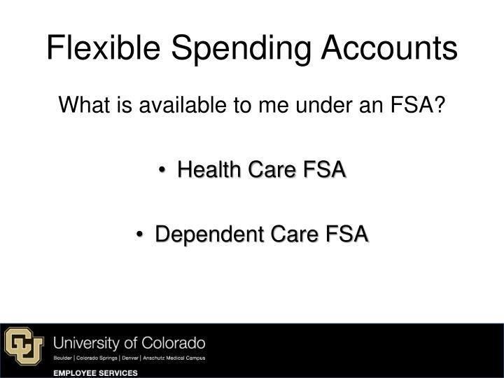 Flexible spending accounts2