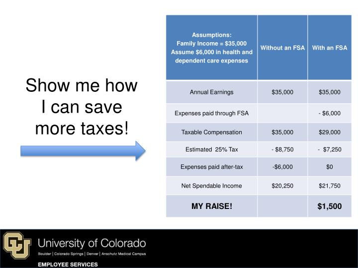 Show me how I can save more taxes!