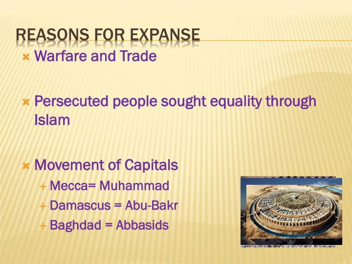 Warfare and Trade