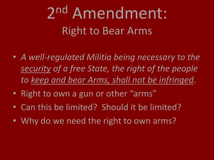 2nd amendment rights apa