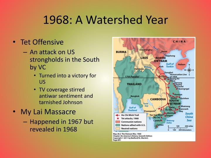 1968: A Watershed Year