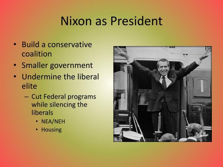 Nixon as President