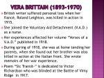 vera brittain 1893 1970