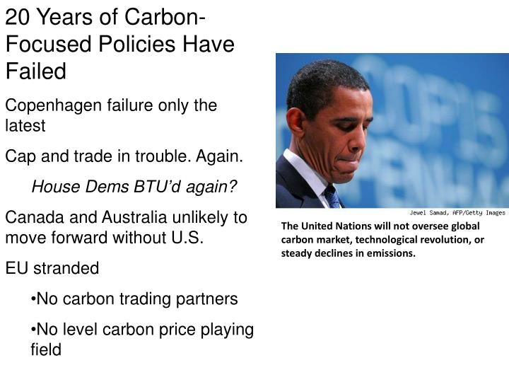 20 Years of Carbon-Focused Policies Have Failed