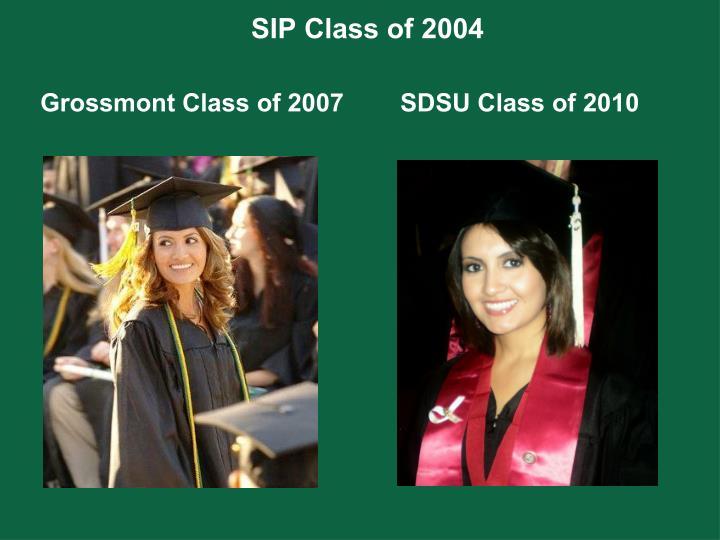 SIP Class of 2004