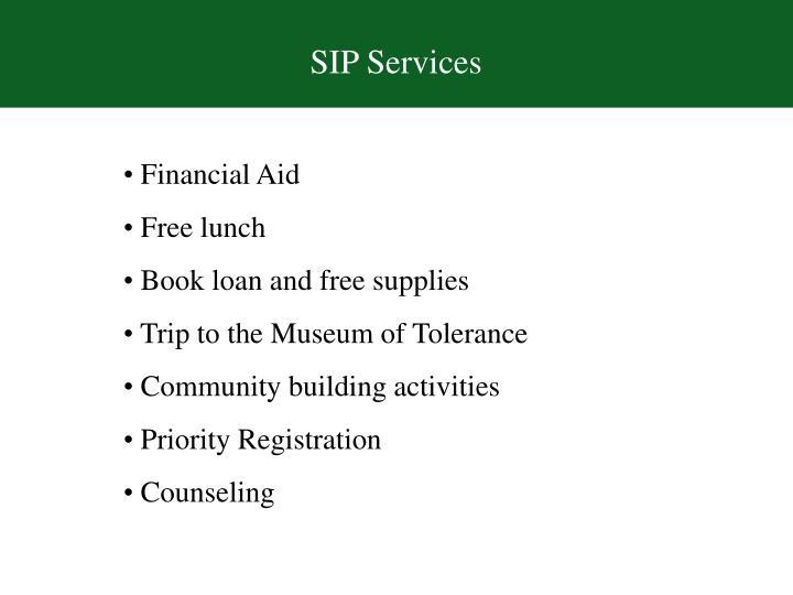SIP Services