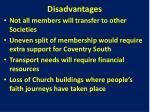 disadvantages6