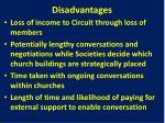 disadvantages7