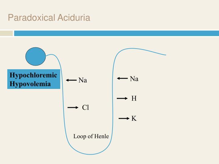Paradoxical Aciduria