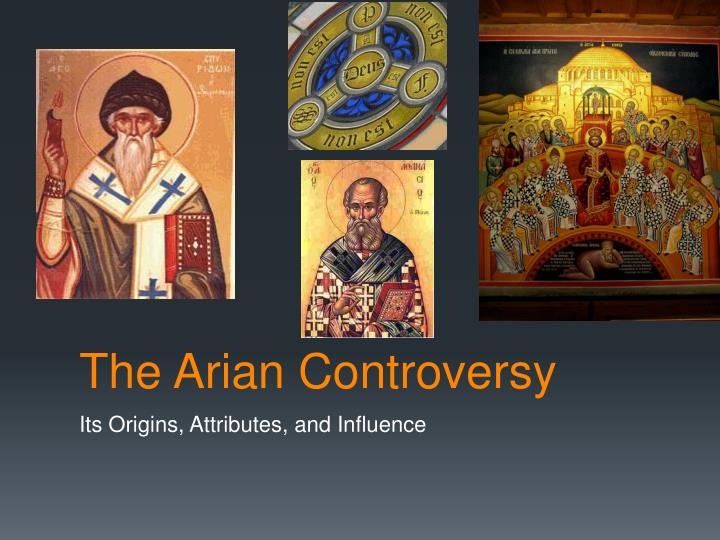 the arian controversy n.