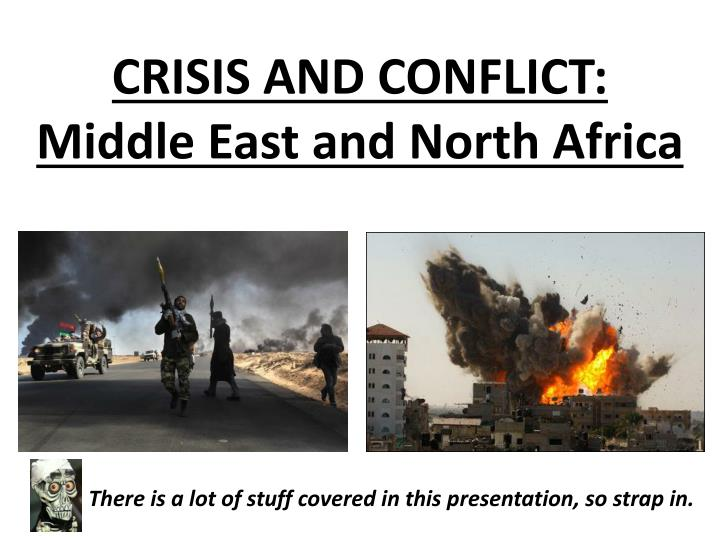 media presentations of the middle east conflict Its media and conflict working group will analyze the role of the media throughout the conflict cycle the first meeting of the working group, which was held may 4, 2007, focused specifically on the role of media in conflict prevention.