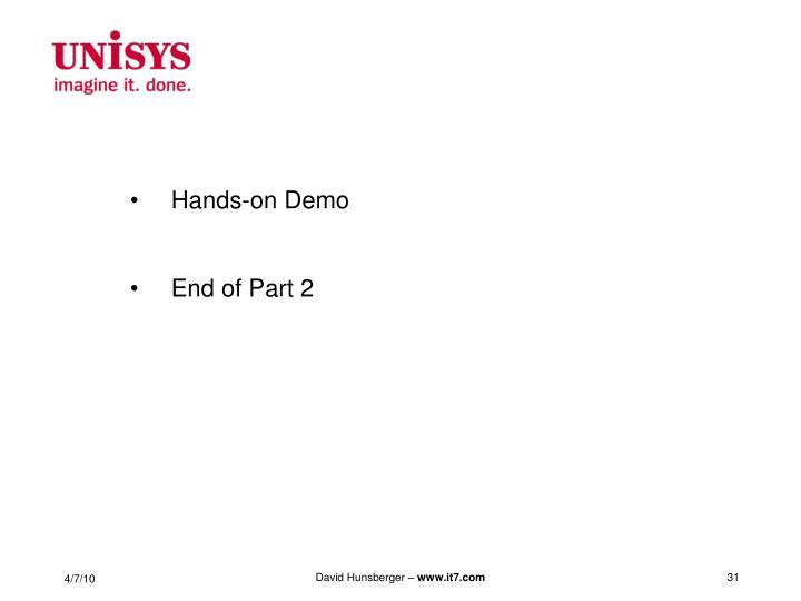 Hands-on Demo