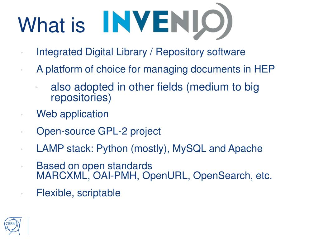 PPT - Two E xamples of Open Source Software Developed at