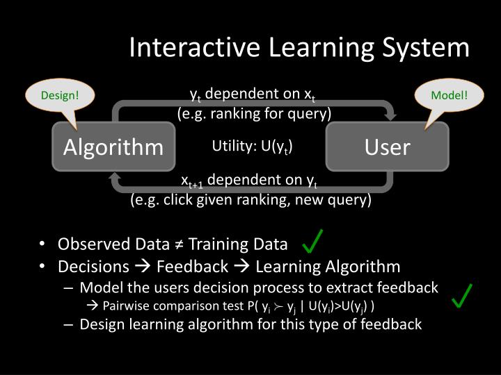 Interactive Learning System