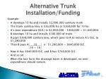 alternative trunk installation funding1
