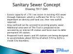 sanitary sewer concept drawing 7917 san