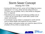 storm sewer concept drawing 7917 stm