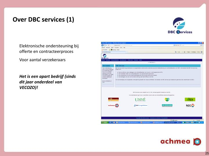 Over DBC services (1)