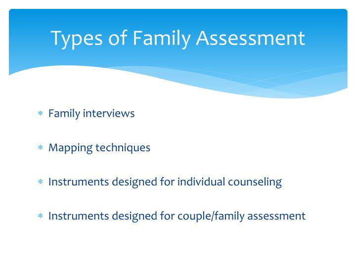 family assessment essay Family health assessment essay - family health assessment family is the basic unit of society a family is a set of interacting individuals related by blood, marriage, cohabitation, or adoption who interdependently perform relevant functions by fulfilling expected roles.