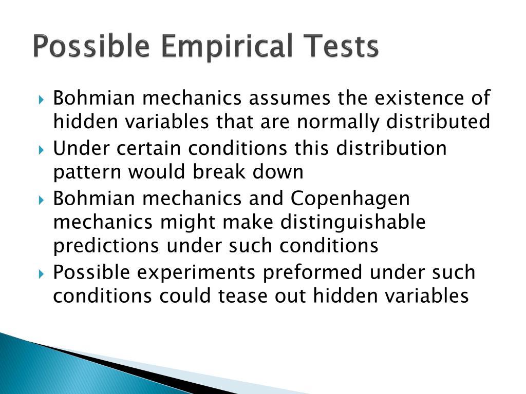 PPT - An Alternative Version of Quantum Mechanics PowerPoint