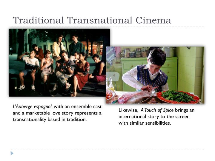 Traditional transnational cinema