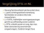 vergelijking dtsl en nl1