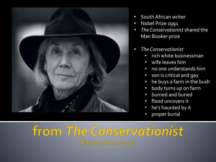 South African writer