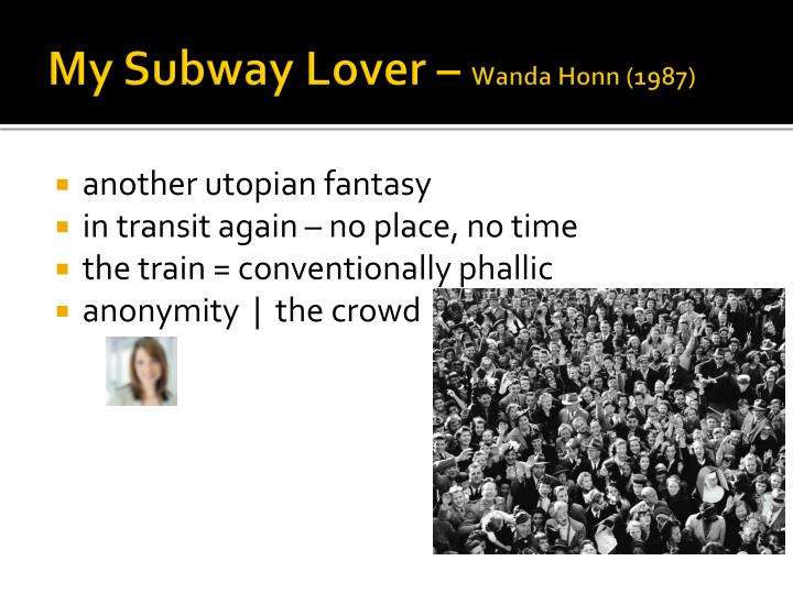 My Subway Lover –