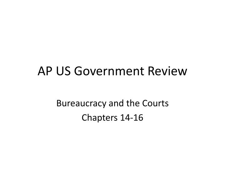 ap us government review n.