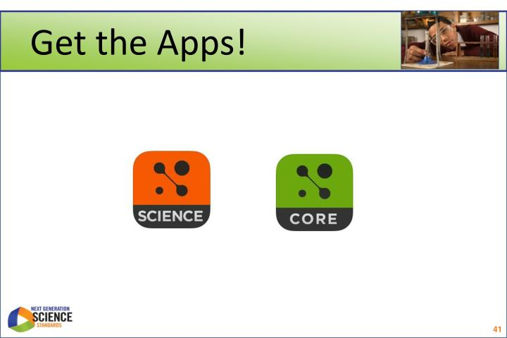 Get the Apps!