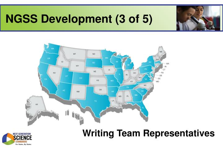 NGSS Development (3 of 5)