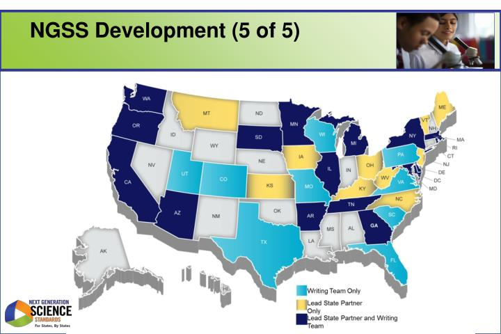 NGSS Development (5 of 5)
