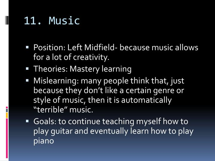 11. Music