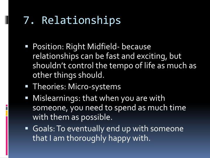 7. Relationships