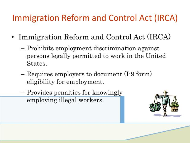immigration reform and control act essay Blog visit our blog for sample by my essay writer conservative estimates indicate that as of 2009, there congress enacted the immigration reform and control.