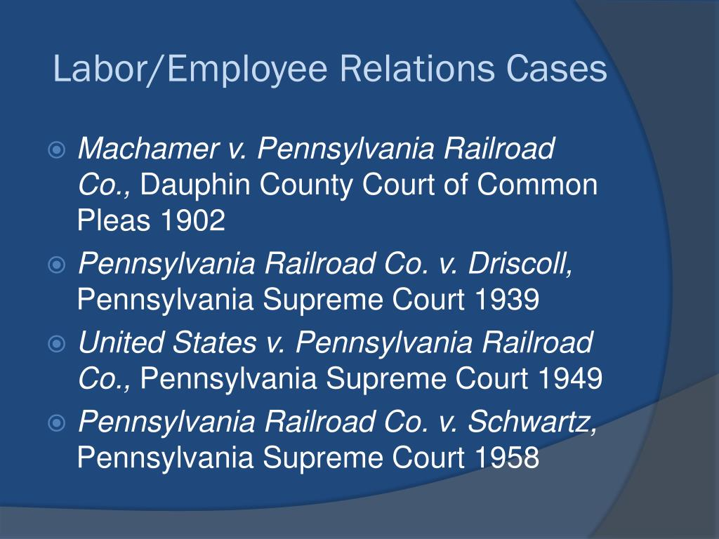 PPT - 130 Years of helping shape Pennsylvania's rail