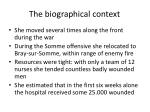 the biographical context3