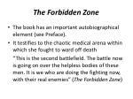 the forbidden zone2