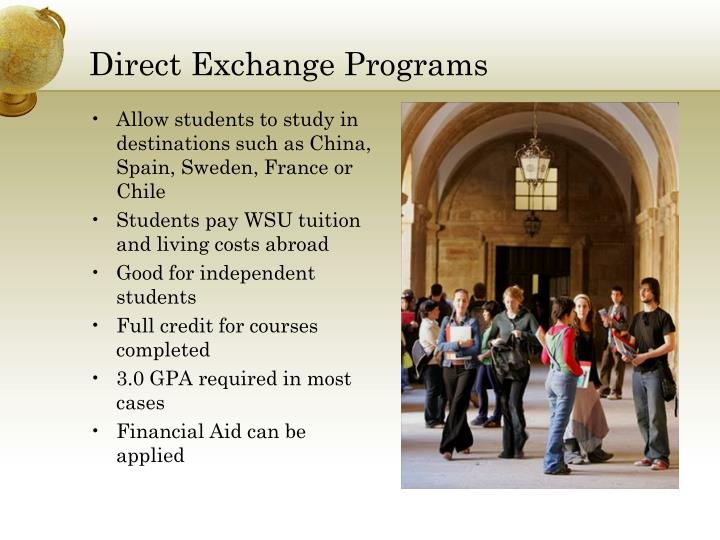 Direct Exchange Programs