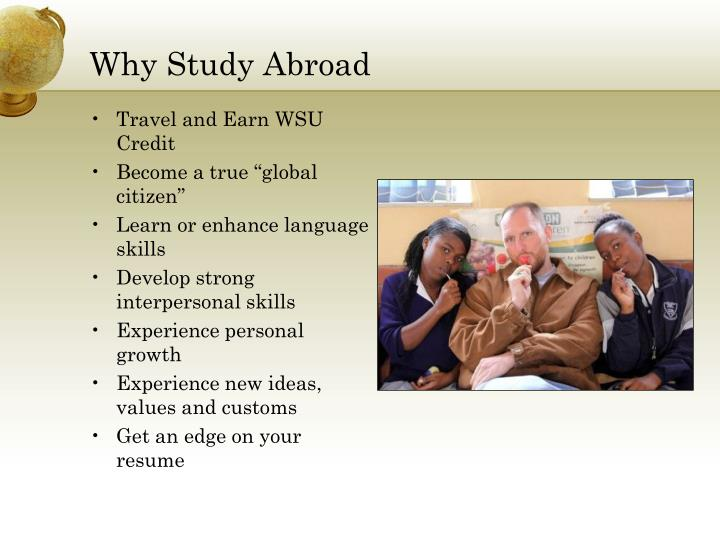 Why Study Abroad