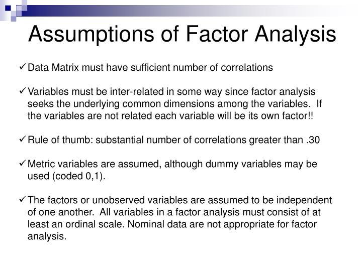 Assured, that rule of thumb factor analysis amusing