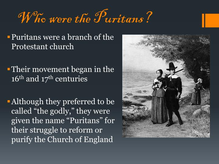 some of the puritan beliefs that led Sola scripture led to individual examination of conscience, another puritan belief puritans put no faith in confessing to a priest sin was a matter between the individual and god.