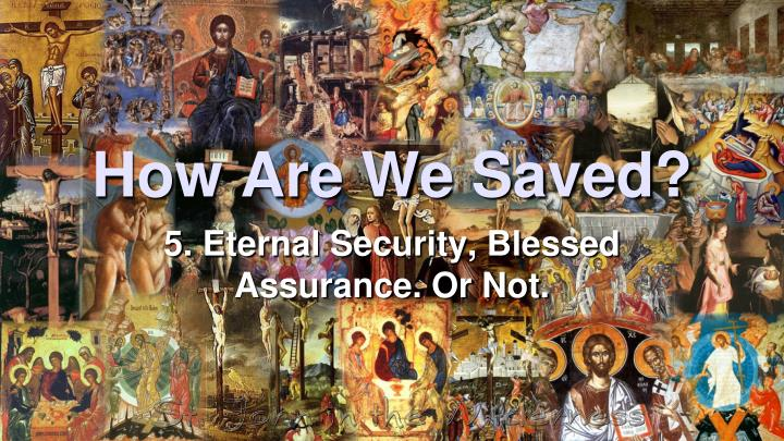 how are we saved n.
