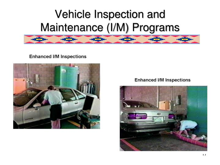 Vehicle Inspection and