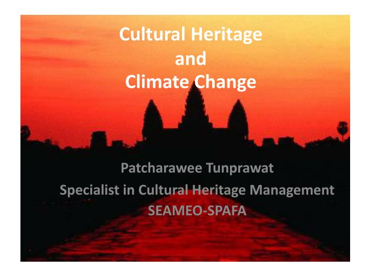 do we need all cultural heritage Identify and acknowledge one's own cultural and spiidentify and acknowledge on e's own cultural and spiritual heritage and how it ritual heritage and how it impacts one's attitudes in providing careimpacts one's attitudes in providing care.