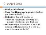 c 9 april 2012