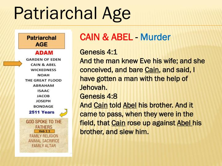 Patriarchal Age