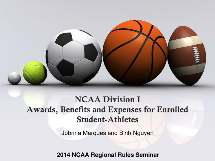 ncaa division i awards benefits and expenses for enrolled student athletes n.