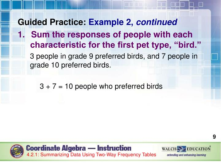 Guided Practice: